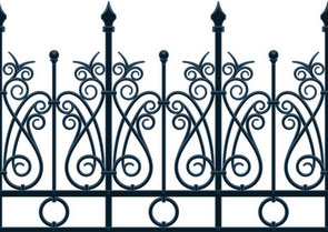 Wrought Iron Gates Slough (SL1)